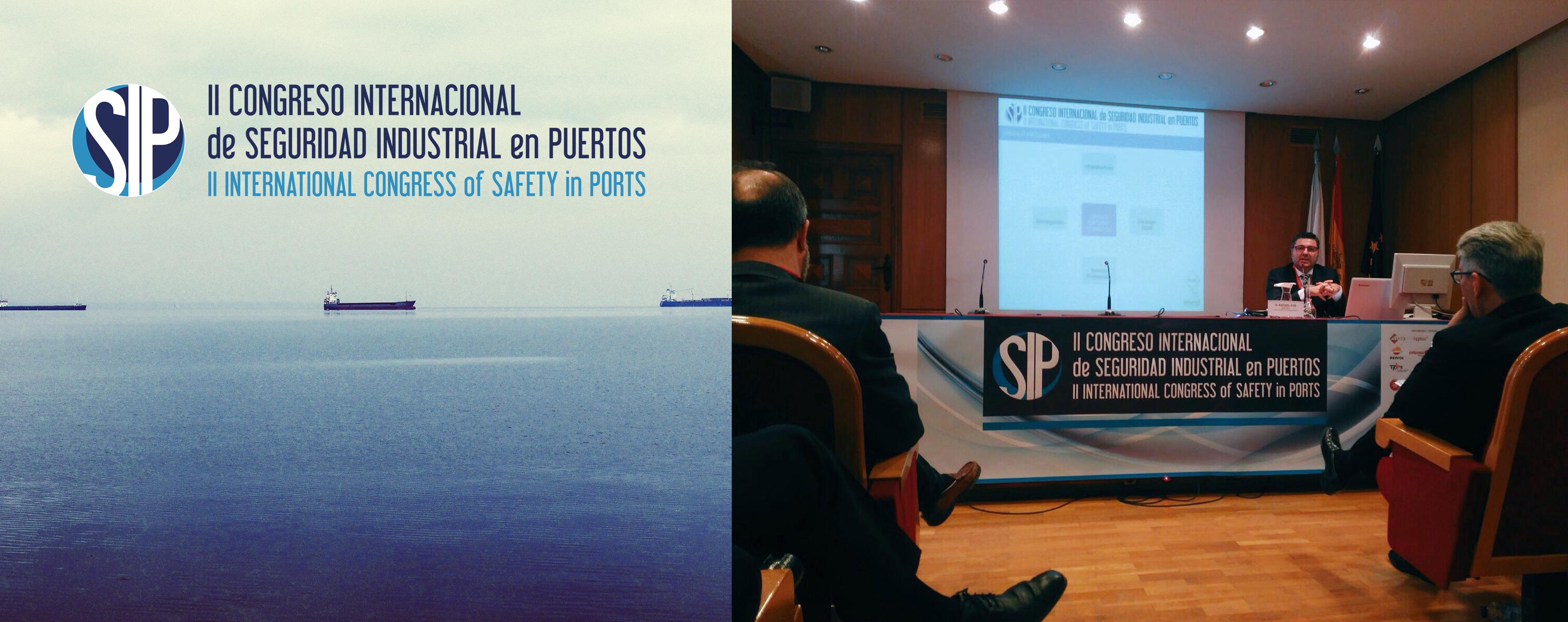 Participamos en el Congreso Internacional de Seguridad Industrial en Puertos